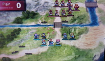 The combat is standard Fire Emblem fare