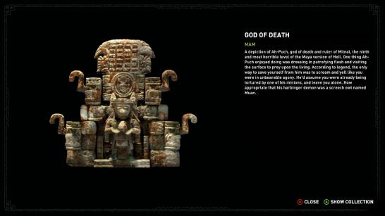 Mayan gods seem real nice.