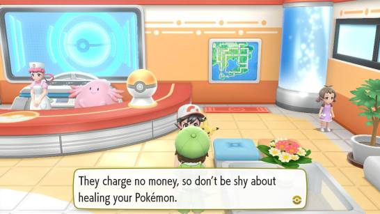 So this is where all us young people got the idea for free healthcare. Damn you, Nintendo!