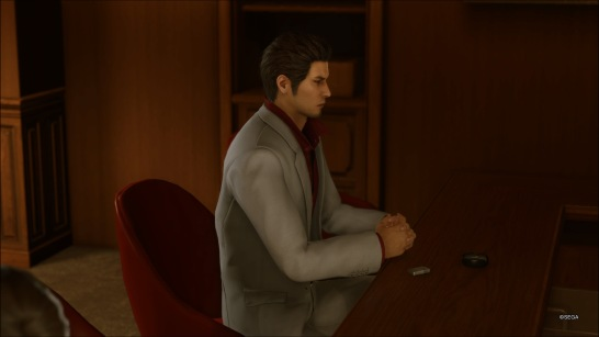 Things will never be the same for Kiryu.