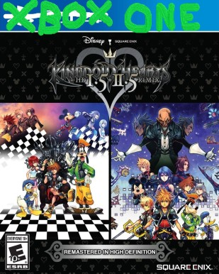 Kingdom Hearts 1 and 2 Xbox One